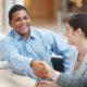 executives hand shake