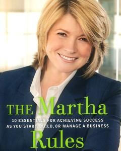 martha stewart: martha rules book