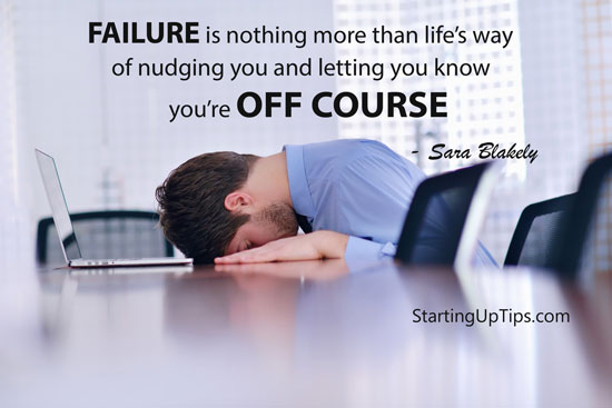 Sara Blakely quote on failure