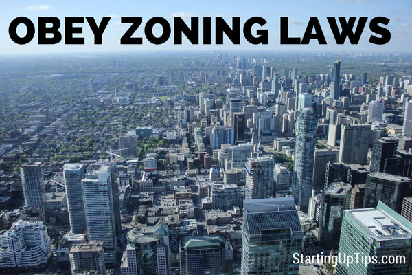 Obey Zoning Laws